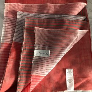NWOT Paul Smith Colorful Striped Scarf